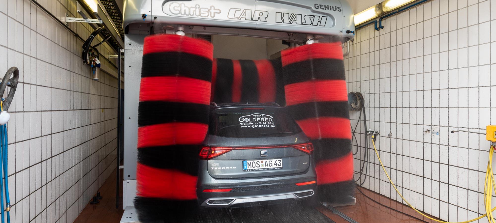 Waschanlage Golderer Autohaus